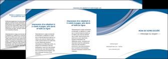 personnaliser modele de depliant 4 volets  8 pages  texture contexture structure MIF50194