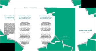 personnaliser maquette depliant 4 volets  8 pages  texture contexture structure MIF50198