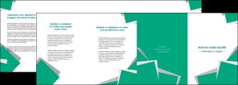 maquette en ligne a personnaliser depliant 4 volets  8 pages  texture contexture structure MLIG50200