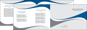 realiser depliant 4 volets  8 pages  texture contexture structure MLIG50504