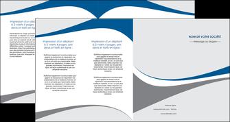 creation graphique en ligne depliant 4 volets  8 pages  texture contexture structure MLIG50508
