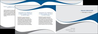 imprimer depliant 4 volets  8 pages  texture contexture structure MLIG50510