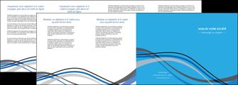 personnaliser maquette depliant 4 volets  8 pages  texture contexture structure MIF50522