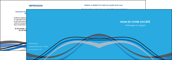 faire modele a imprimer depliant 2 volets  4 pages  texture contexture structure MIF50550