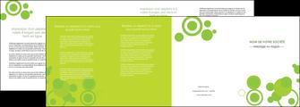 faire depliant 4 volets  8 pages  texture contexture structure MLIG50580