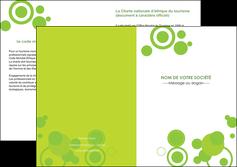 faire modele a imprimer depliant 2 volets  4 pages  texture contexture structure MLGI50584
