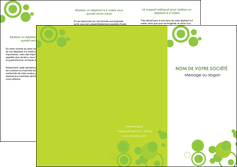 personnaliser maquette depliant 3 volets  6 pages  texture contexture structure MIF50598