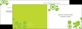 exemple depliant 2 volets  4 pages  texture contexture structure MIF50606