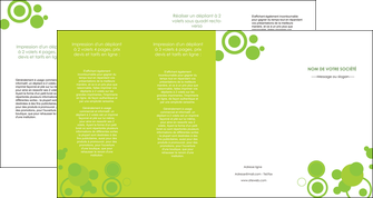 faire modele a imprimer depliant 4 volets  8 pages  texture contexture structure MIF50626