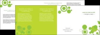 personnaliser modele de depliant 4 volets  8 pages  texture contexture structure MLGI50628