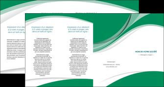 imprimerie depliant 4 volets  8 pages  texture contexture structure MIF50688