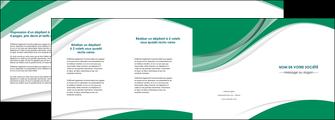 personnaliser maquette depliant 4 volets  8 pages  texture contexture structure MIF50690