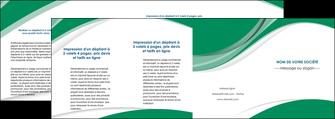modele en ligne depliant 4 volets  8 pages  texture contexture structure MIF50736