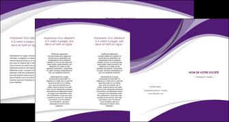 faire depliant 4 volets  8 pages  texture contexture structure MIF50740