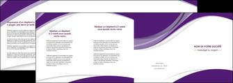 imprimer depliant 4 volets  8 pages  texture contexture structure MIF50742