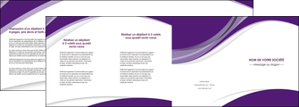 imprimer depliant 4 volets  8 pages  texture contexture structure MLIGBE50742