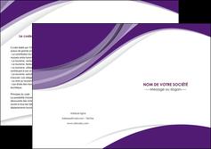 modele en ligne depliant 2 volets  4 pages  texture contexture structure MLGI50746
