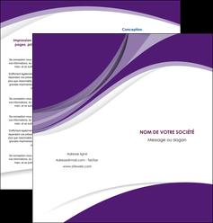 creer modele en ligne depliant 2 volets  4 pages  texture contexture structure MIF50756