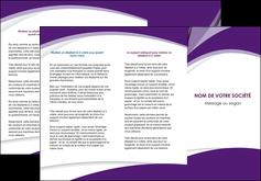 personnaliser modele de depliant 3 volets  6 pages  texture contexture structure MIF50758