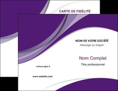 Commander Carte Visite Commerciale De Fidlit Modle Graphique Pour Devis Dimprimeur