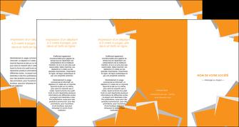 personnaliser maquette depliant 4 volets  8 pages  texture contexture structure MIF50862