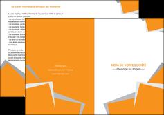 imprimerie depliant 2 volets  4 pages  texture contexture structure MIF50868