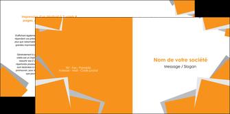 personnaliser modele de depliant 2 volets  4 pages  texture contexture structure MIF50876