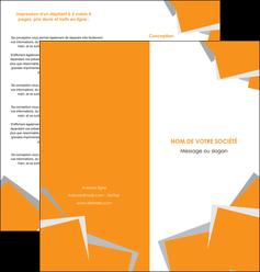 modele depliant 2 volets  4 pages  texture contexture structure MLIG50878