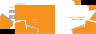 modele en ligne depliant 2 volets  4 pages  texture contexture structure MLIG50890
