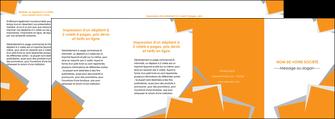 imprimerie depliant 4 volets  8 pages  texture contexture structure MIF50910