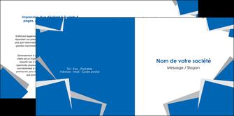 creation graphique en ligne depliant 2 volets  4 pages  texture contexture structure MIF50928