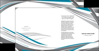 modele depliant 4 volets  8 pages  texture contexture structure MIF50966