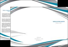 Commander Dépliant  depliant Dépliant 6 pages pli accordéon DL - Portrait (10x21cm lorsque fermé)