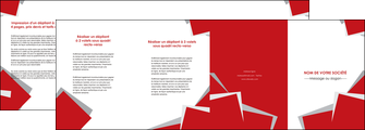 modele depliant 4 volets  8 pages  texture contexture structure MIF51018