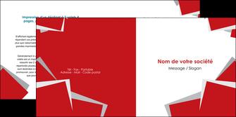 modele depliant 2 volets  4 pages  texture contexture structure MLGI51030