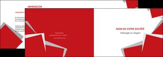 creer modele en ligne depliant 2 volets  4 pages  texture contexture structure MIF51044
