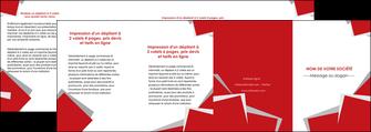 cree depliant 4 volets  8 pages  texture contexture structure MLGI51064