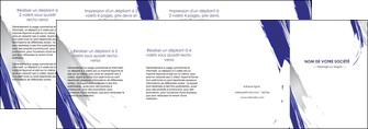 personnaliser modele de depliant 4 volets  8 pages  texture contexture structure MLGI51462