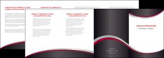 modele depliant 4 volets  8 pages  texture contexture structure MIF51484