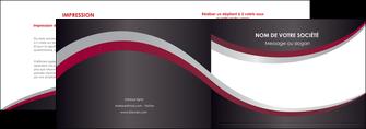 imprimer depliant 2 volets  4 pages  texture contexture structure MIF51510
