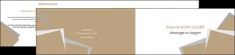 impression depliant 2 volets  4 pages  texture contexture structure MIF51544