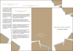 modele depliant 3 volets  6 pages  texture contexture structure MIF51554