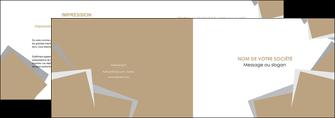 maquette en ligne a personnaliser depliant 2 volets  4 pages  texture contexture structure MIF51562