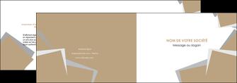 cree depliant 2 volets  4 pages  texture contexture structure MLGI51564