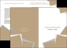 modele en ligne depliant 2 volets  4 pages  texture contexture structure MIF51574