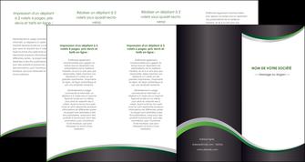 realiser depliant 4 volets  8 pages  texture contexture structure MIF51646
