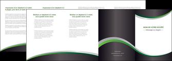 personnaliser modele de depliant 4 volets  8 pages  texture contexture structure MIF51648