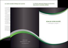 imprimerie depliant 2 volets  4 pages  texture contexture structure MIF51652