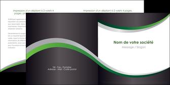 imprimer depliant 2 volets  4 pages  texture contexture structure MIF51660