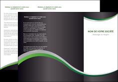 creation graphique en ligne depliant 3 volets  6 pages  texture contexture structure MIF51664